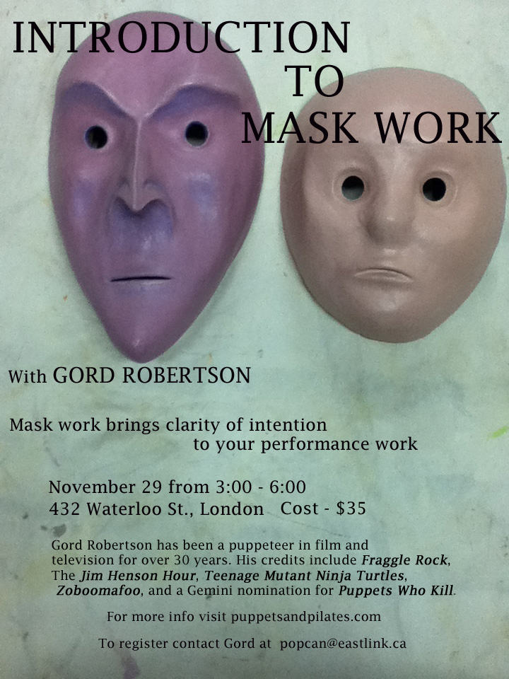 Intro to Mask work - London